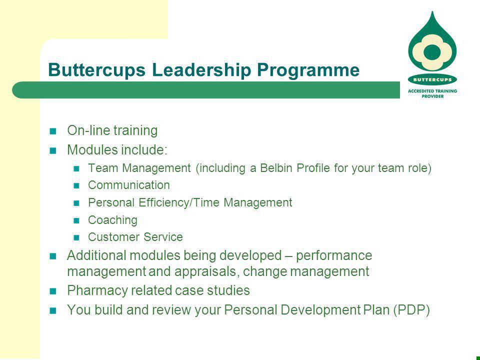 Buttercups Leadership Programme