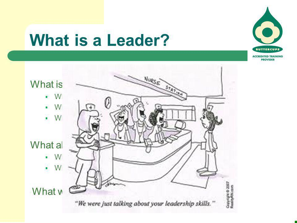 What is a Leader What is your definition of a leader