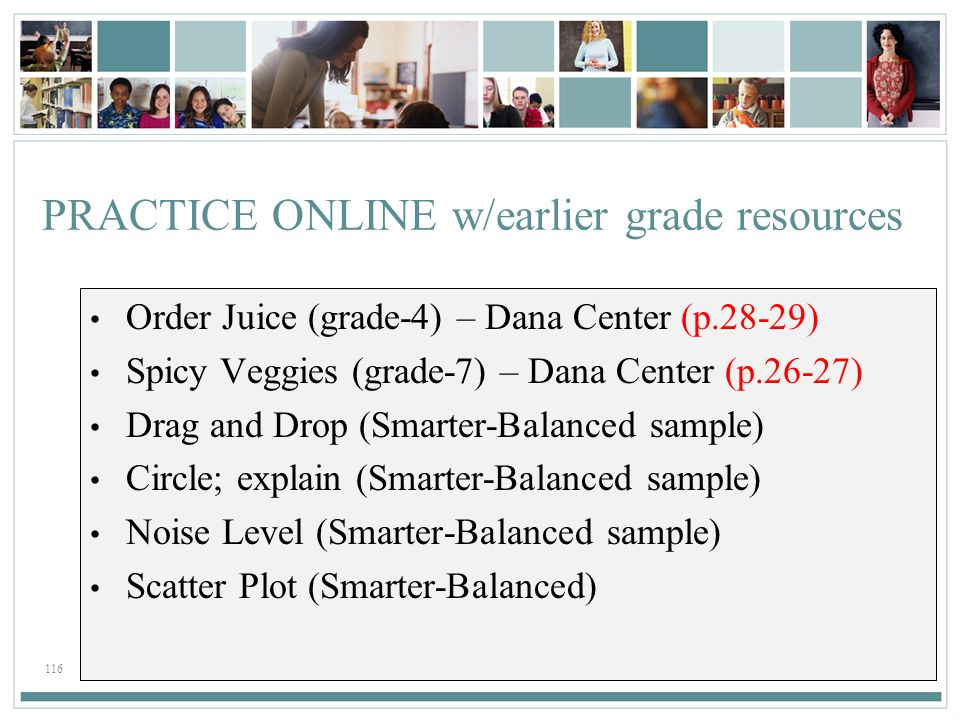PRACTICE ONLINE w/earlier grade resources