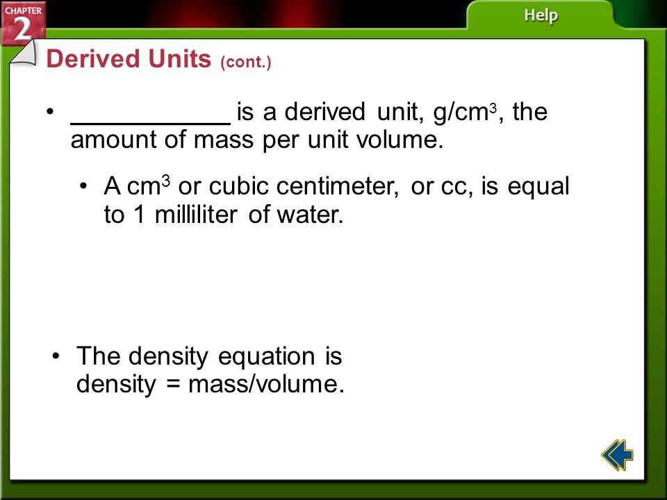 A cm3 or cubic centimeter, or cc, is equal to 1 milliliter of water.