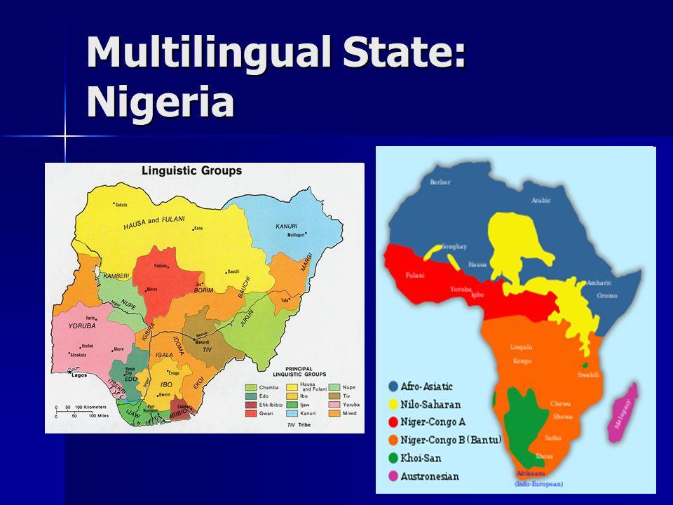 Multilingual State: Nigeria