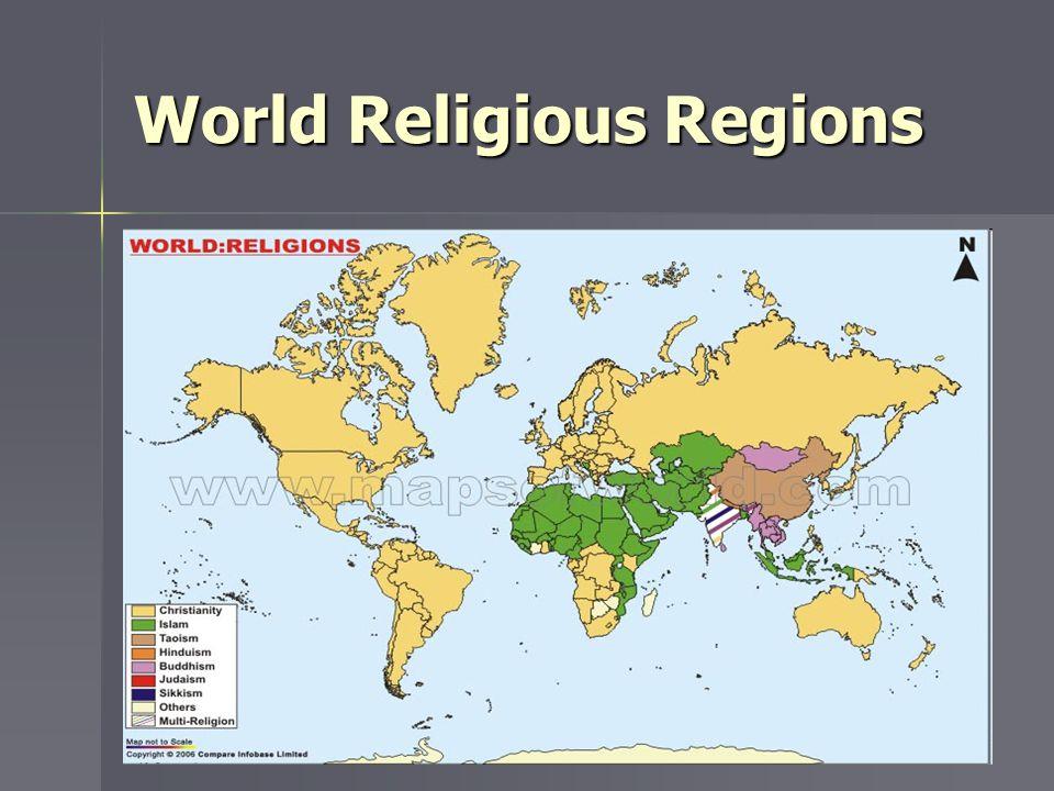 World Religious Regions