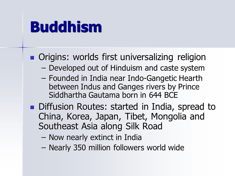 compare the diffusion of buddhism and christianity from its origins What are the similarities and differences between the way christianity and and lest one compare the gentility and tolerance christianity, and buddhism.