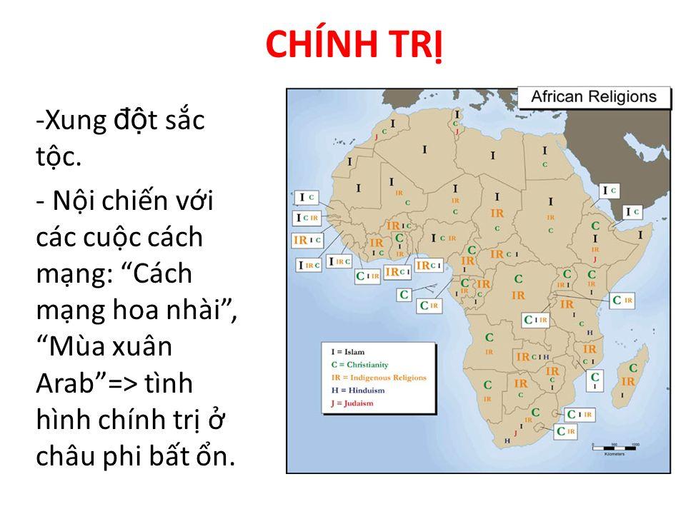 CHÍNH TRỊ Xung đột sắc tộc.