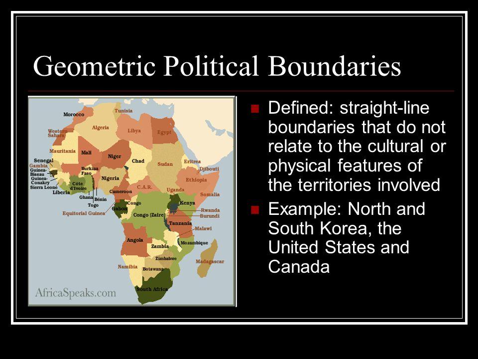 Geometric Political Boundaries
