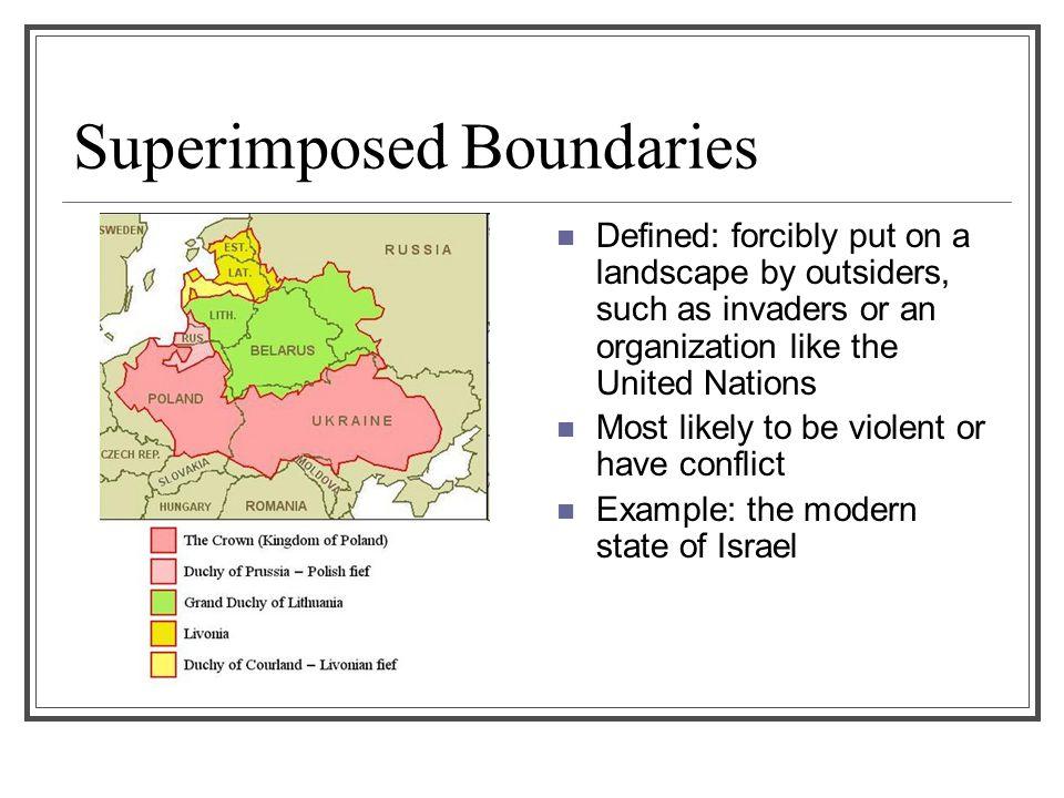 Superimposed Boundaries