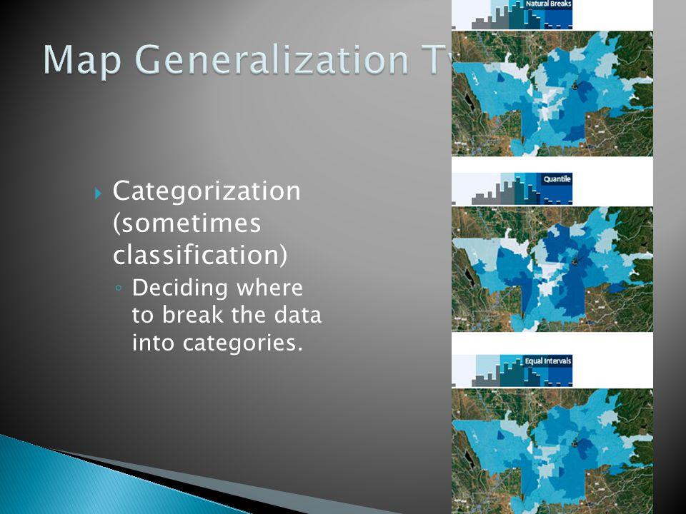 Map Generalization Type 4
