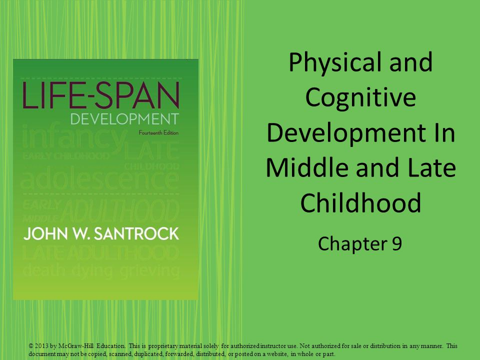 cognitive development in middle and lat H language development the children experience changes in vocabulary and grammar they are in the middle of the children and the children lately this is influenced by the activity of reading reading has a very important role for their language repertoire during the mid and late childhood, there was a change of mind.