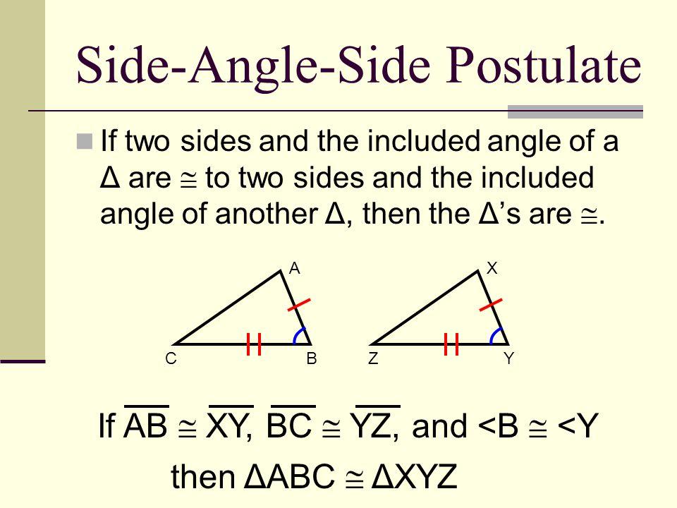 Side-Angle-Side Postulate