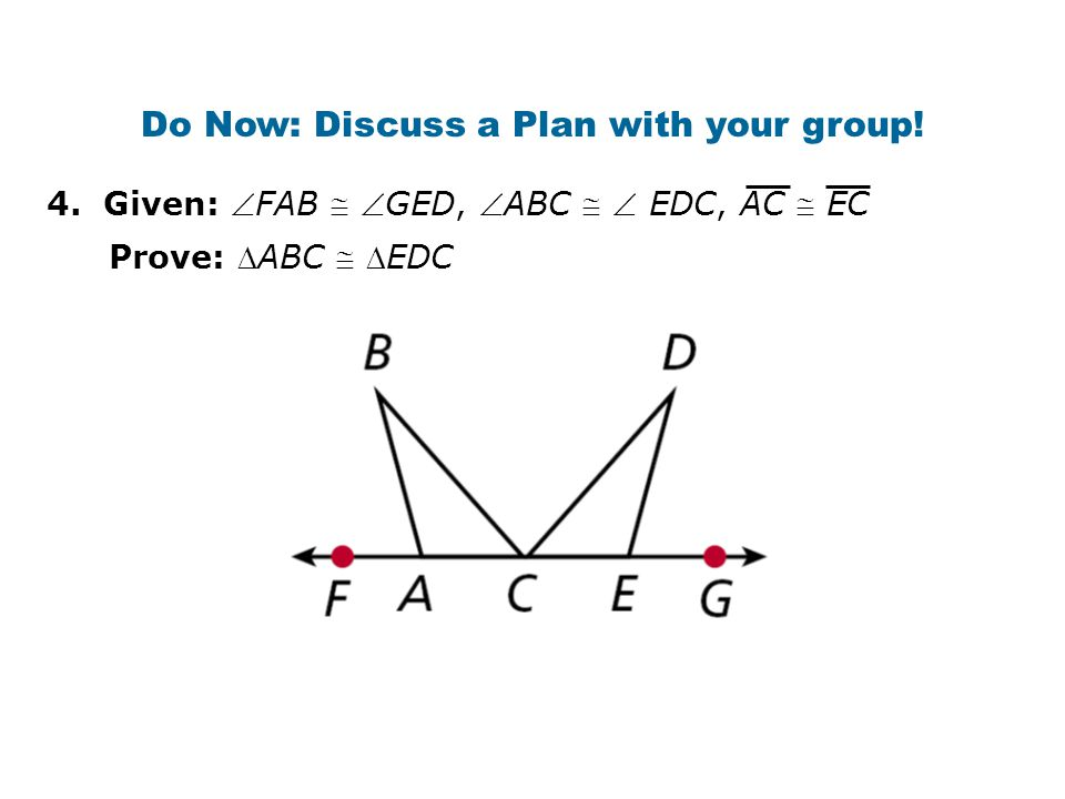 Do Now: Discuss a Plan with your group!