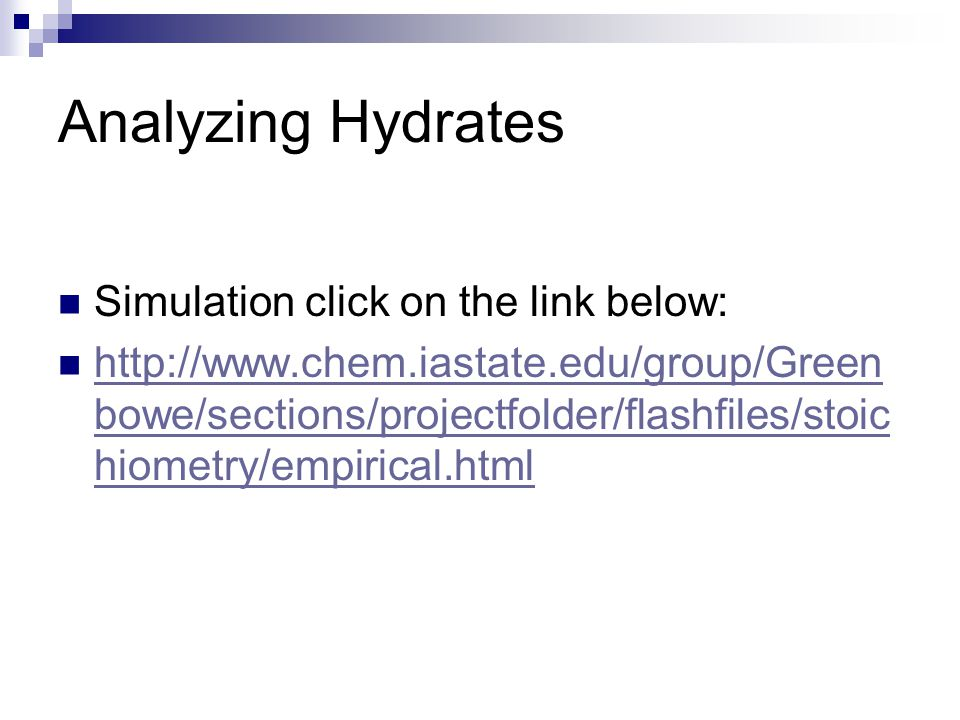 Analyzing Hydrates Simulation click on the link below: