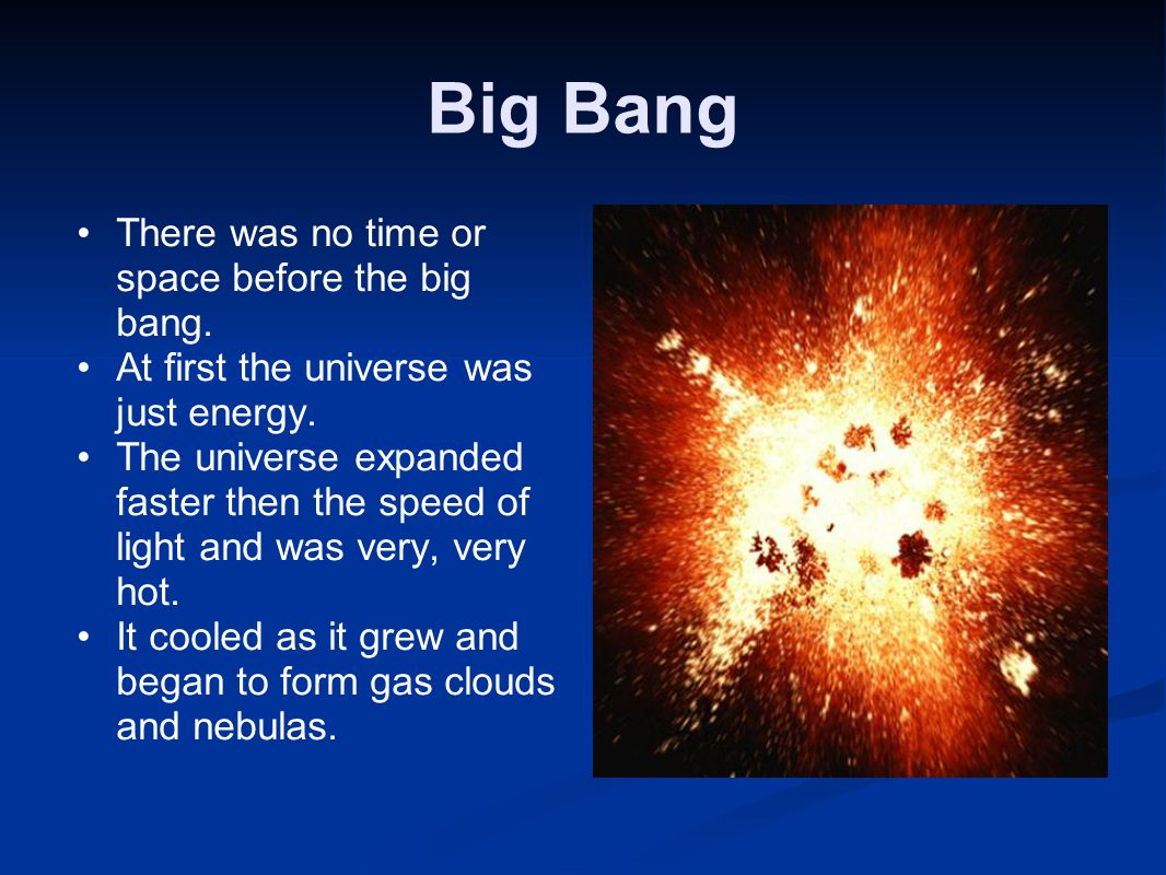 Big Bang to Earths Formation Concept Map  ppt video online download