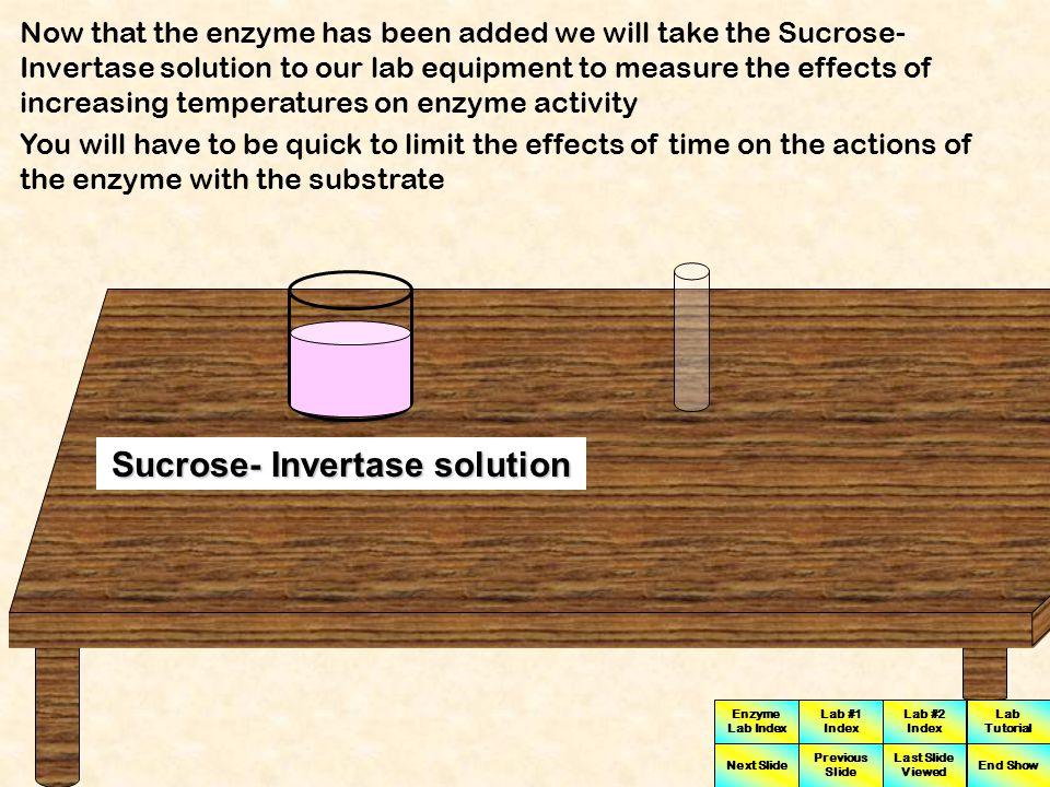 Sucrose- Invertase solution