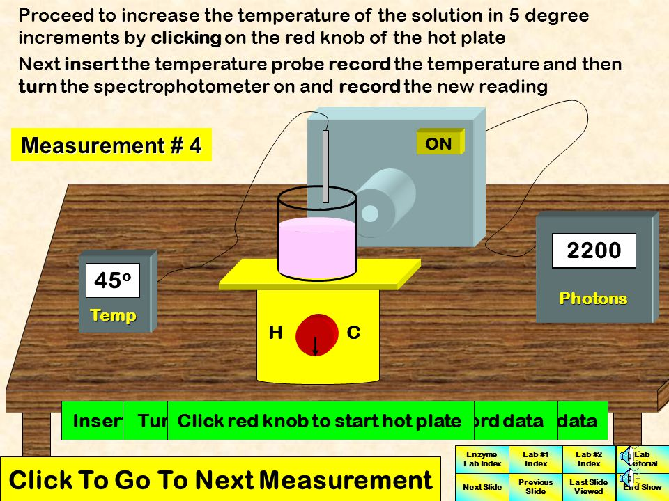 Click To Go To Next Measurement