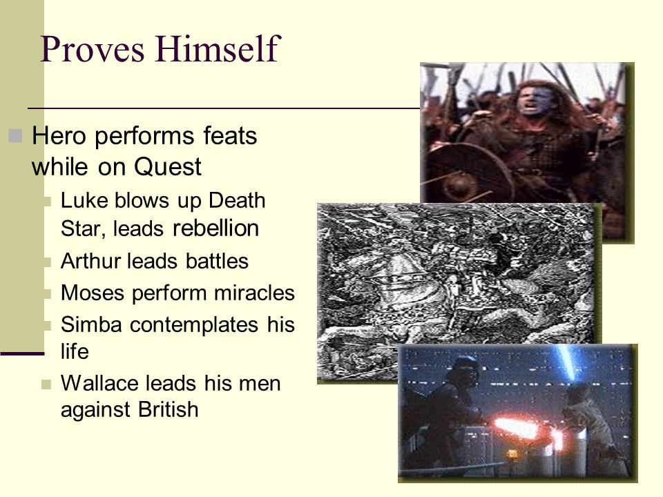 Proves Himself Hero performs feats while on Quest