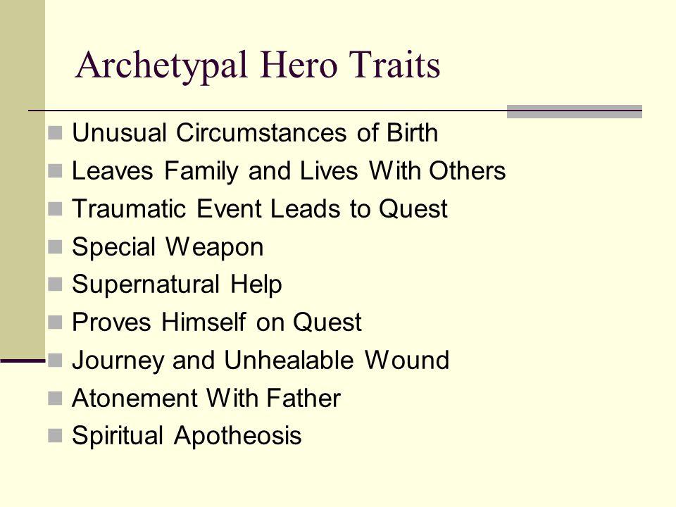 Archetypal Hero Traits