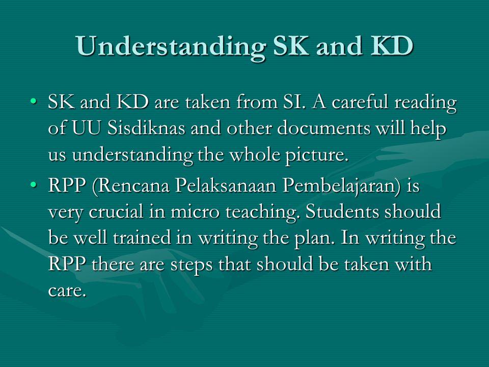 Understanding SK and KD