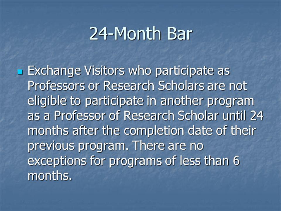 24-Month Bar