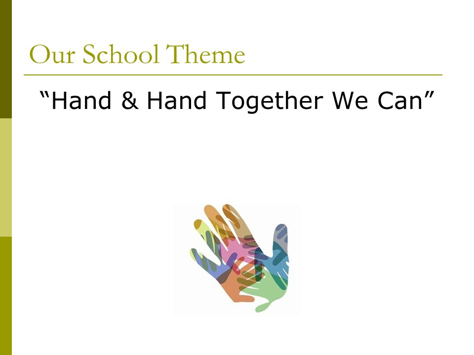 Hand & Hand Together We Can