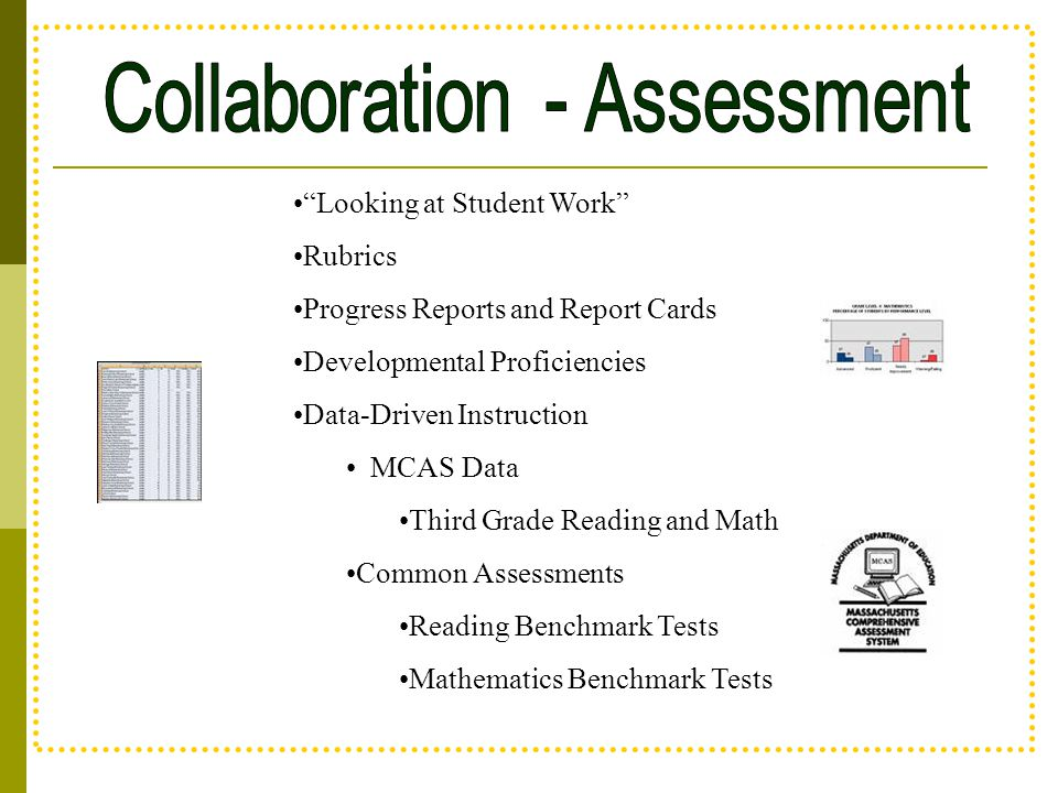 Collaboration - Assessment