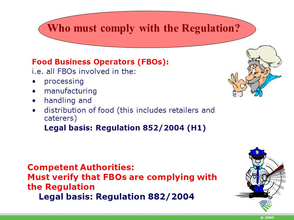 Who must comply with the Regulation
