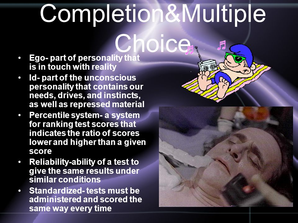 Completion&Multiple Choice