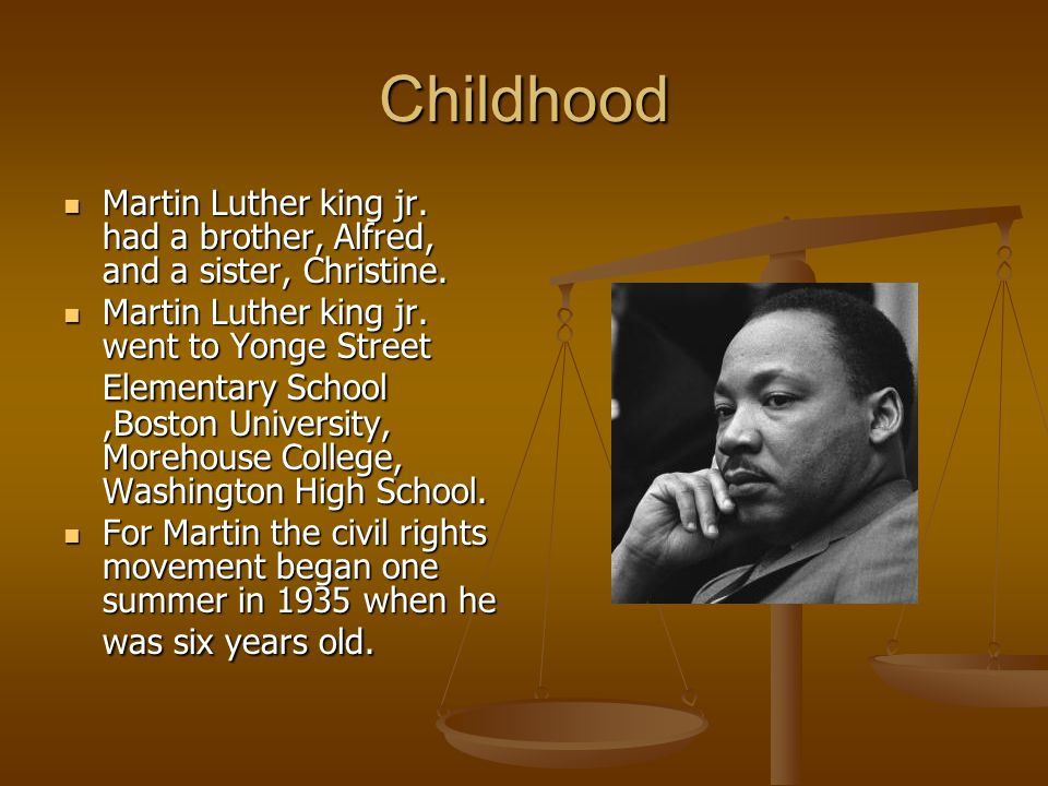 essay about marton luther king jr