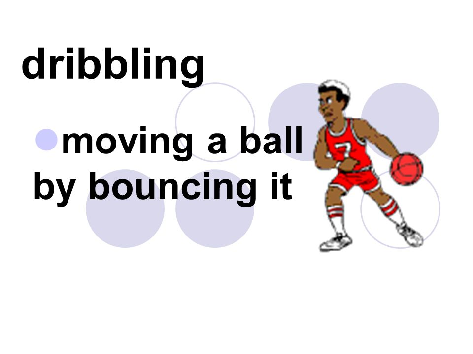 moving a ball by bouncing it