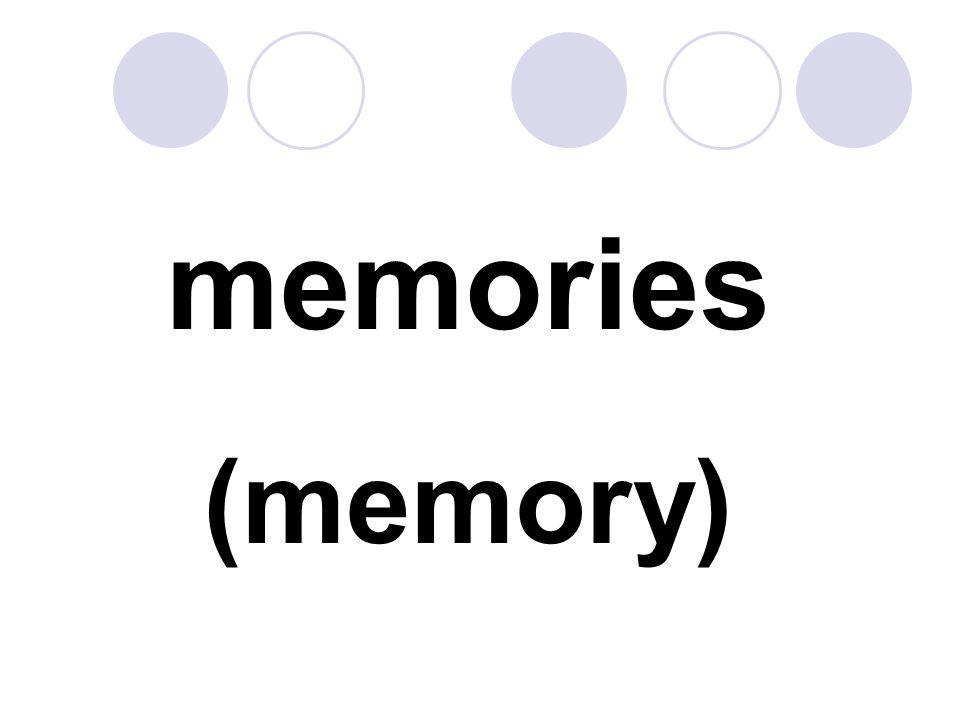 memories (memory)