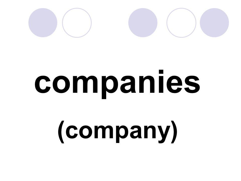 companies (company)