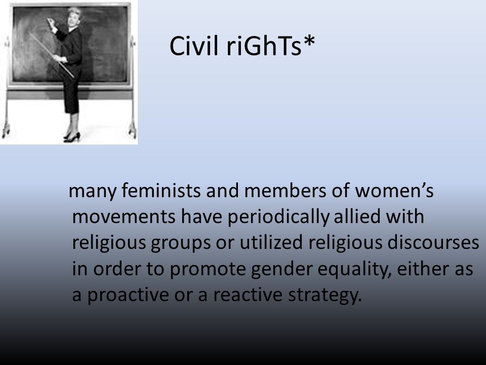 Civil riGhTs*