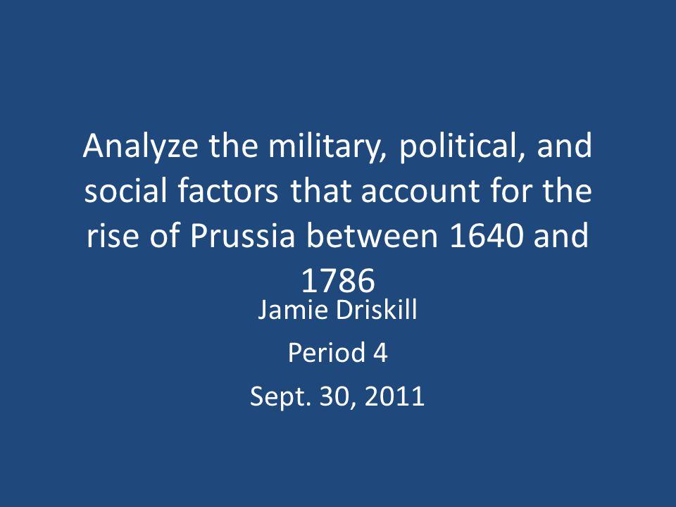 Jamie Driskill Period 4 Sept. 30, 2011