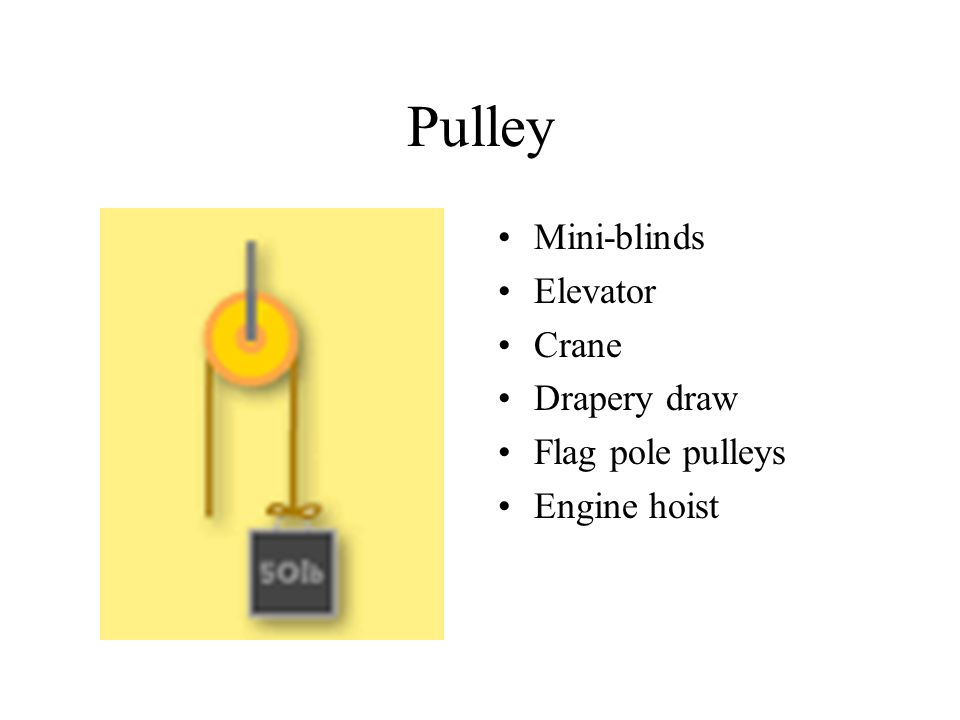 Pulley Mini-blinds Elevator Crane Drapery draw Flag pole pulleys