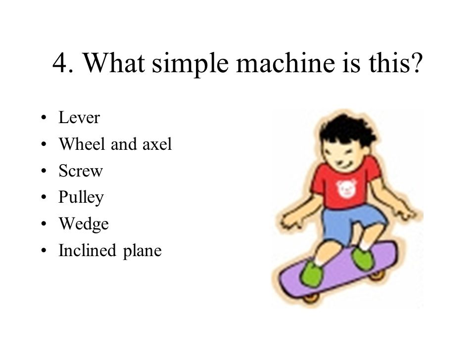 4. What simple machine is this
