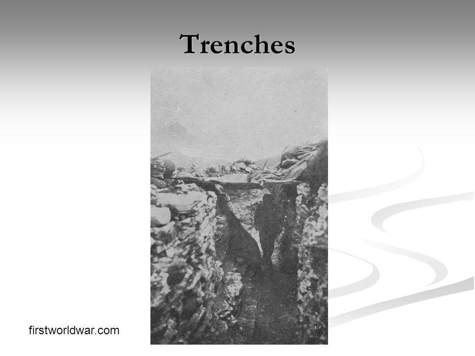Trenches firstworldwar.com