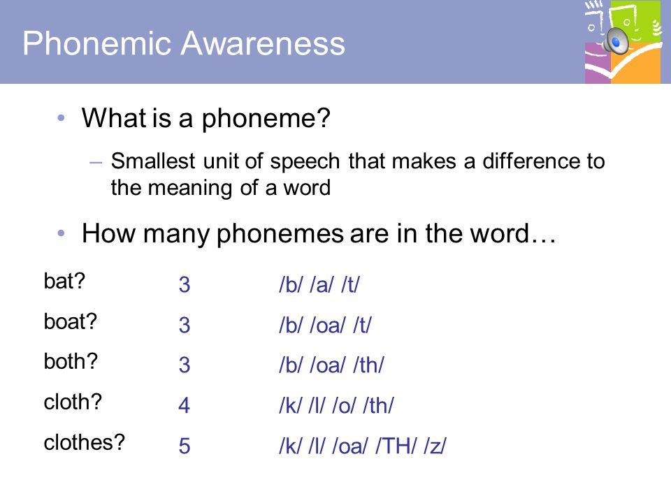 Phonemic Awareness What is a phoneme
