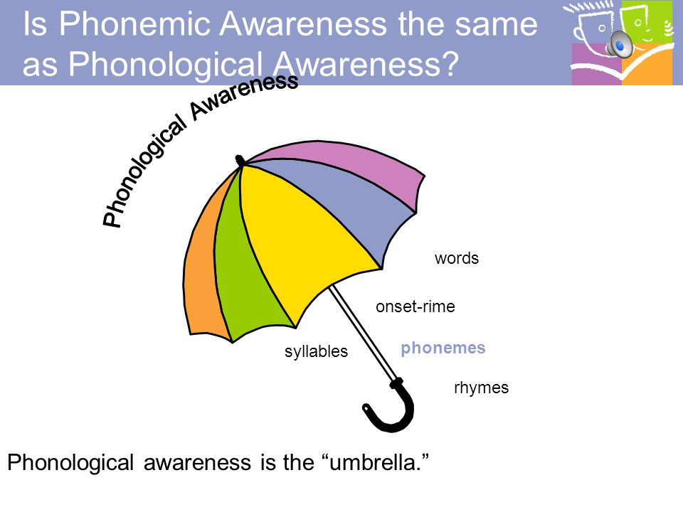 Is Phonemic Awareness the same as Phonological Awareness