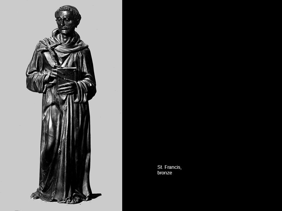 St. Francis, bronze