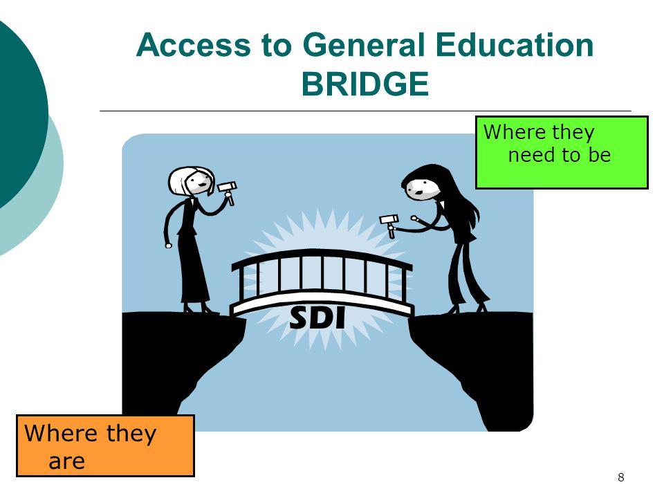 Access to General Education BRIDGE