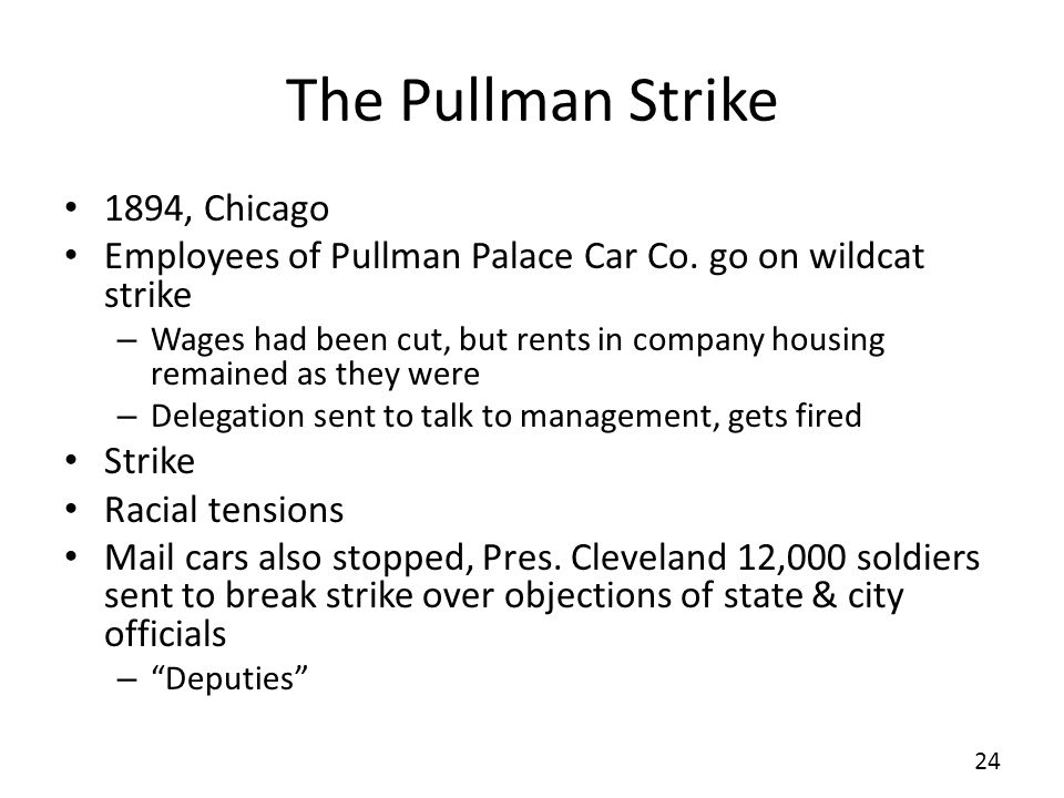 The Pullman Strike 1894, Chicago