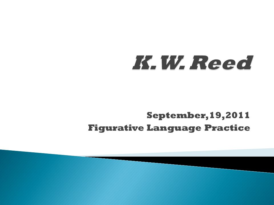 September,19,2011 Figurative Language Practice