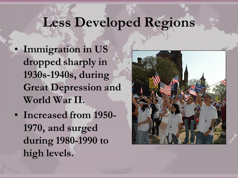 Less Developed Regions