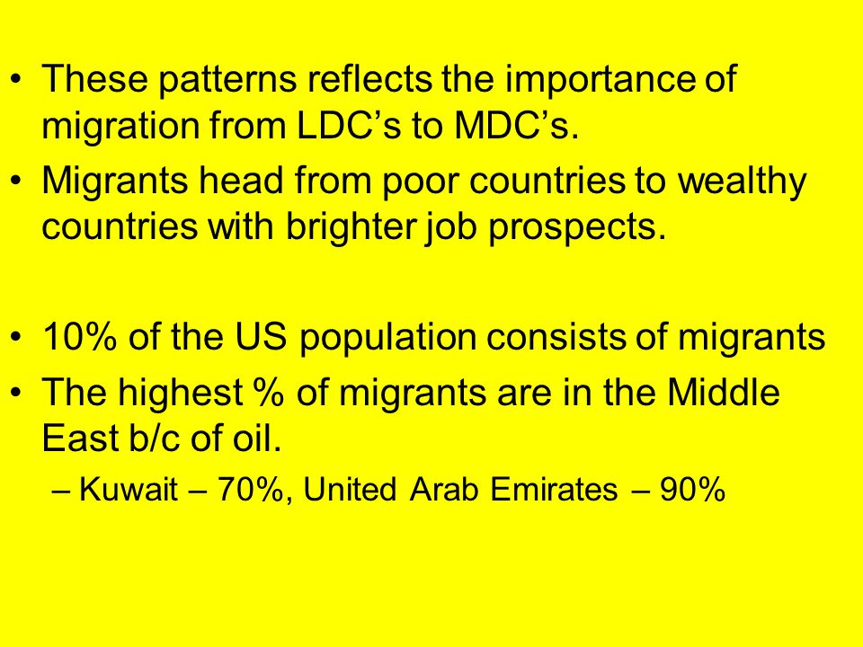 10% of the US population consists of migrants