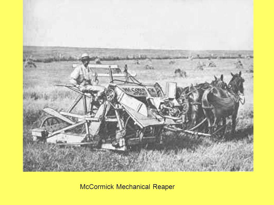 McCormick Mechanical Reaper