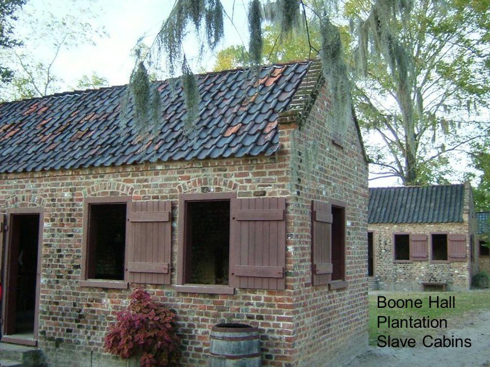 Boone Hall Plantation Slave Cabins
