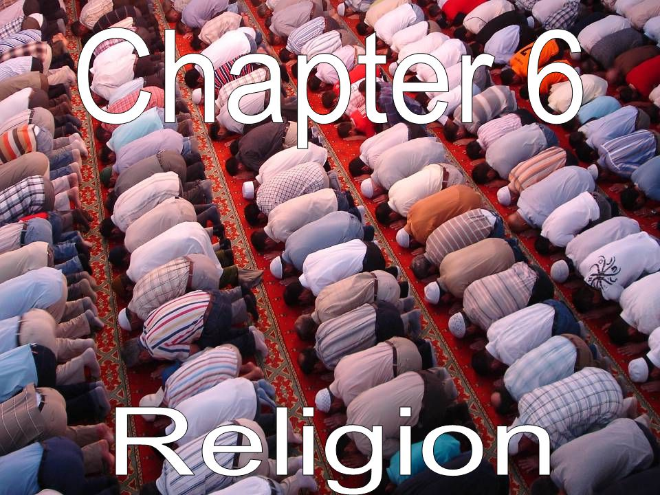 Chapter 6 Religion