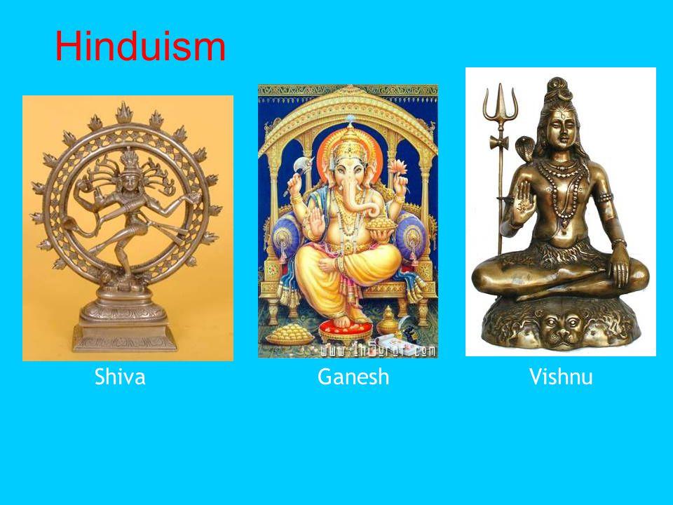 Hinduism Shiva Ganesh Vishnu