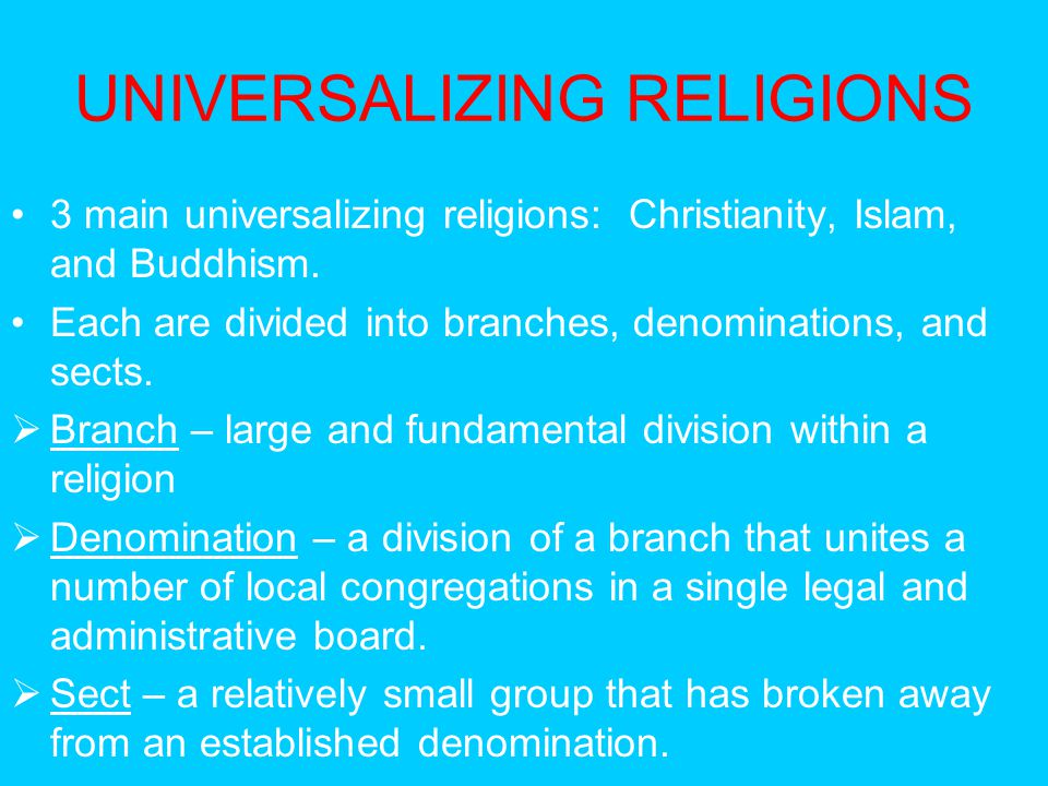 Chapter 6 Religion. - ppt download