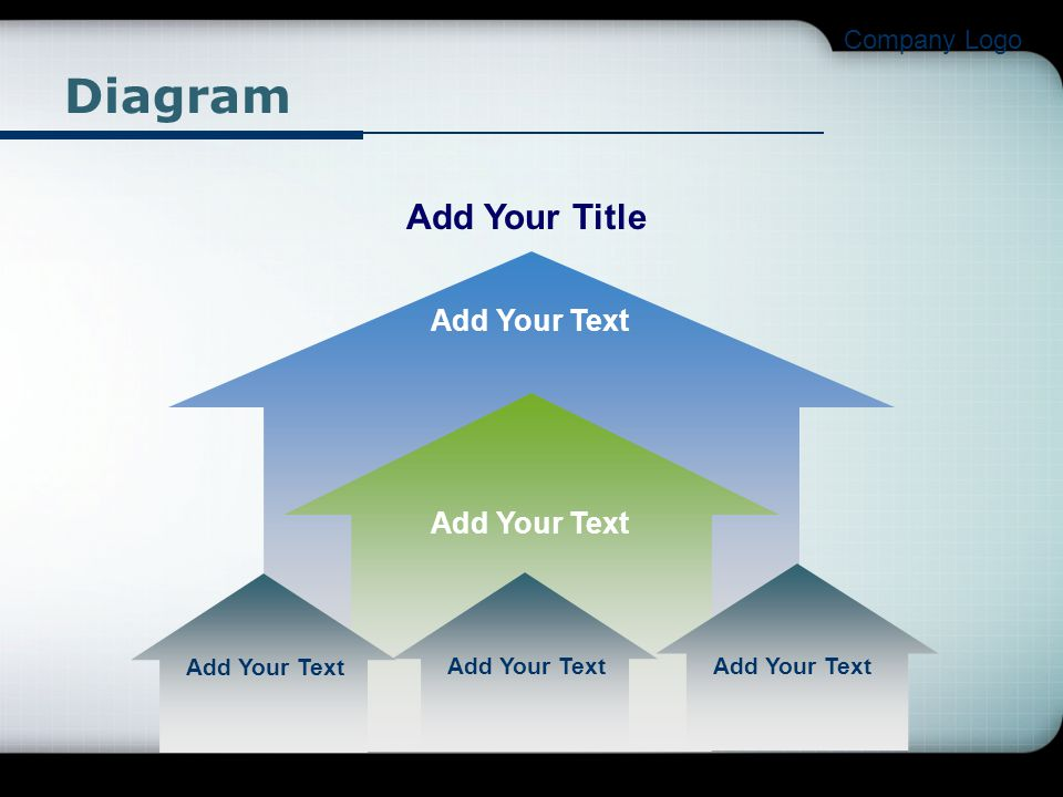 Diagram Add Your Title Add Your Text Add Your Text Company Logo