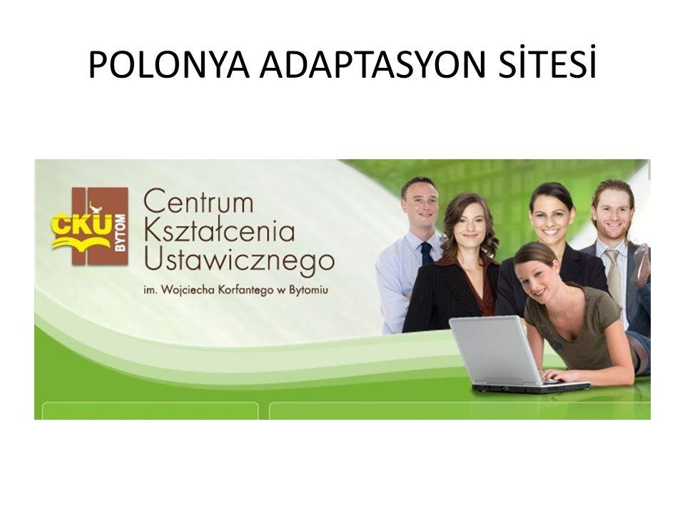 POLONYA ADAPTASYON SİTESİ